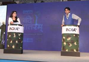 India TV Vande Mataram Kumar Vishwas