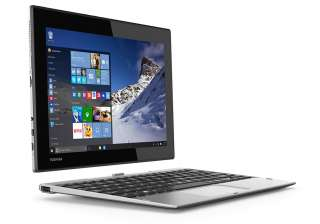 Toshiba Satellite Click 10 - Rs 23,264: Satellite Click 10 is a 10.1-inch tablet with an Intel Atom x5 processor, a high-resolution display, and a keyboard dock. It is a 1920 x 1200 display resolution, a dedicated Cortana key for quick-access voice commands, and an 8-megapixel rear camera. It has a 2GB DDR3L RAM and 32GB of eMMC storage (expandable to 64GB).