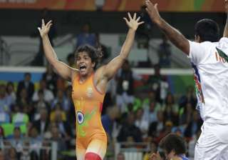 Sakshi staged a historic comeback after trailing 0-5 in the initial period.