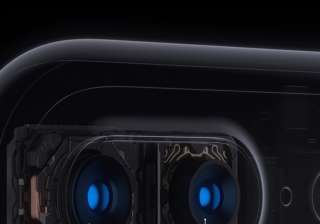 Along with a 12-megapixel wide angle camera, iPhone 7 Plus also has a 12-megapixel telephoto camera that together offer optical zoom at two times and up to 10 times digital zoom for photos.
