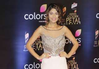 Lopa Mudra Raut, who was seen in Bigg Boss 10 sizzled in while gown.