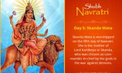 Goddess Skandamata, Navratri, india tv