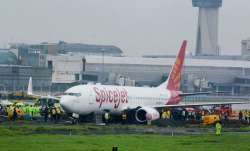 SpiceJet's Boeing 737 Aircraft skidded off the Mumbai