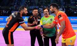 The Gujarat Fortunegiants took on the former Pro Kabaddi