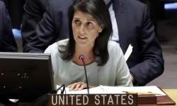 File pic - US Ambassador to the UN Nikki Haley