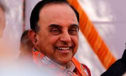 File pic of Subramanian Swamy