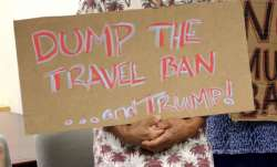 US judge blocks Donald Trump's new travel ban targeting