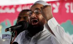 File photo of Lashkar-e-Taiba chief Hafiz Saeed.
