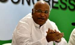 Congress leader in the Lok Sabha Mallikarjun Kharge