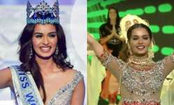 Manushi Chhillar performs at Miss World 2017 stage