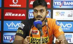Vijay Shankar india vs sri lanka