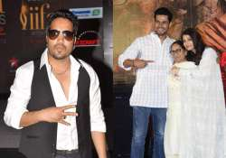 Mika Singh, Dalbir Kaur with Aishwarya Rai Bachchan and