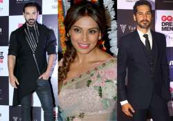 Bipasha's exes John and Dino