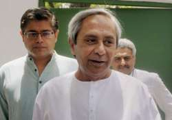 Accused Chief Minister Naveen Patnaik