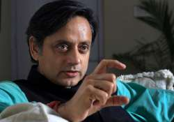 File pic of Congress leader Shashi Tharoor