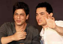 Shah Rukh and Aamir had a 'Khantastic' night with