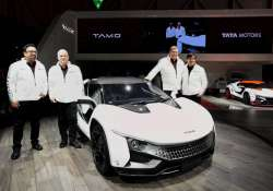 Tata Motors unveils sports car Tamo Racemo at Geneva Motor