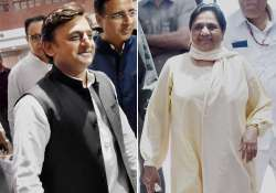 Akhilesh, Mayawati likely to hold joint rally in UP, a- India Tv
