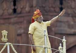 PM Modi at Red Fort