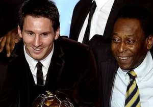 Leo Messi and Pele- India Tv