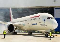 first dreamliner aircraft delivered to air india in the us