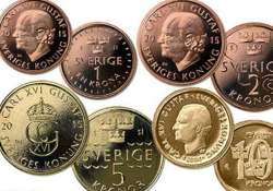 sweden unveils new bank notes coins