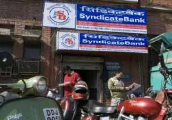 syndicate bank seeks government nod for rs 1 100 crore qip