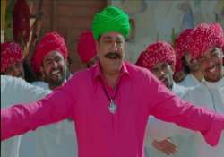dhol dance and garlands sanjay dutt gets hero s welcome at