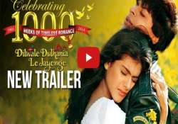 yrf recreates shah rukh kajol romance with new ddlj trailer