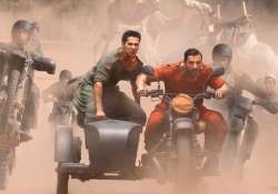 dishoom first look varun dhawan and john abraham are the