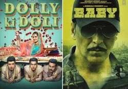 dolly ki doli and baby all set to clash at box office see