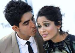freida pinto opens about dev patel and more