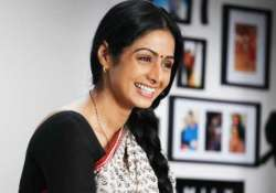 no supporting roles for sridevi riding high on comeback