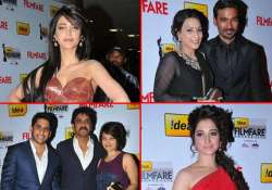 southern celebs dazzled at the red carpet of filmfare