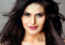 zareen khan tones up
