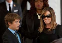 melissa rivers s x mas wish i want son to laugh again
