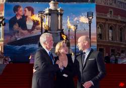 kate winslet and james cameron launch 3d re release of