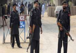 four pak policemen killed as three suicide bombers blow