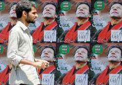 imran will not be able to vote in saturday s poll pak