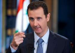 battling terrorism major challenge for syria president
