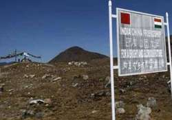 india china troops end stand off ahead of khurshid s