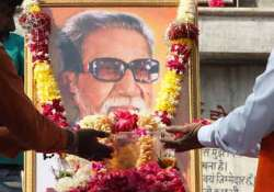 huge crowds expected at shivaji park on bal thackeray death