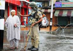 fresh clashes in kashmir valley protests against bsf firing