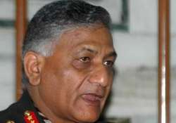 gen v k singh rejects demand for apology