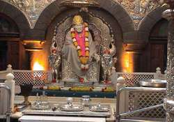 gold silver and diamonds donated to shirdi sai baba will be