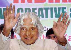 when apj kalam refused to sit on presidential chair at an
