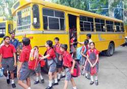 schools asked to install cctv gprs in buses with female