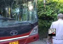 low floor dtc bus crushes young man to death in delhi