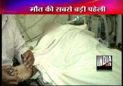 mystery shrouds delhi businessman s death