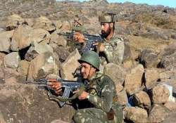 pak violates ceasefire again targets 16 indian posts